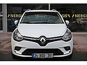 18 KDV DAHİL HATASIZ 35 BİNDE SERVİS BAKIM CRUIS NERGİSOTOMOTİV Renault Clio 1.5 dCi SportTourer Touch