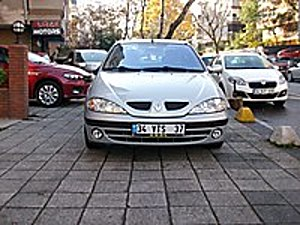2001 MODEL MEGANE 1.6 16V SADECE 57.000 KM GARAJ ARABASI Renault Megane 1.6 RTE