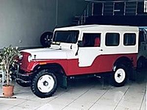 Arazide kullanmaya ve Karavan yapılmaya uygun cam tavanlı willys Jeep Jeep Willys