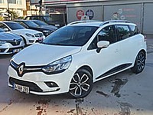 2018 MODEL CLİO KAZASIZ İLK ELDEN YETKİLİ SERVİS BAKIMLI Renault Clio 1.5 dCi SportTourer Touch