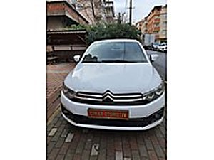 10000TL PEŞİNALI C ELYSE TAMAMINA YAKIN KREDİLİ Citroën C-Elysée 1.6 HDi  Shine