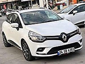 2017 MODEL İLK ELDEN YETKİLİ SERVİS BAKIMLI MASRAFSIZ Renault Clio 1.5 dCi SportTourer Touch