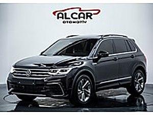 İLK ELDEN 2020 MODEL 1.5 TSİ R LİNE SIYAH RENK SADECE 3.500 KMDE Volkswagen Tiguan 1.5 TSI  R-Line