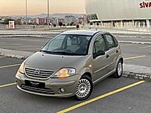 2005 CİRROEN C3 1.4 HDİ SX DİJİTAL KILİMALI Citroën C3 1.4 HDi SX