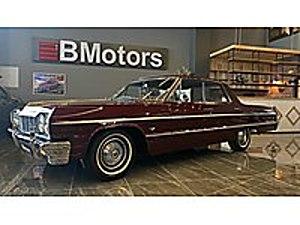 BMotors Plaza dan 1964 Chevrolet İmpala V8 Direksiz ORJINAL Chevrolet Chevrolet Impala