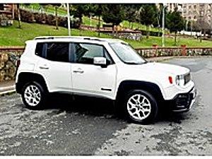 BOYASIZ-TRAMERSİZ GARANTİDE LİMİTED 65.000 KM DE DİZEL-OTOMATİK Jeep Renegade 1.6 Multijet Limited