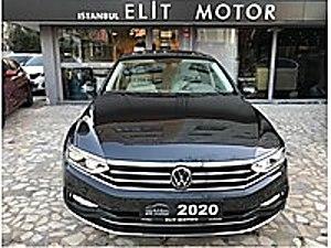 ist.ELİT MOTOR dan 2020 SIFIR  0  PASSAT ELEGANCE CAM TAVANLI Volkswagen Passat 1.6 TDI BlueMotion Elegance