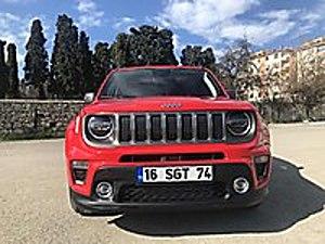 2020 RENEGADE 1.6MJET DCT LTD HATASIZ BOYASIZ 6.450KM 295.500TL Jeep Renegade 1.6 Multijet Limited