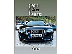 AKKAYA OTOMOTİVDEN 2011 AUDI A5 Audi A5 A5 Sportback 2.0 TDI