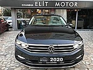 ist.ELİT MOTOR dan 2020 YENİ KASA PASSAT ELEGANCE CAM TAVAN  18 Volkswagen Passat 1.6 TDI BlueMotion Elegance