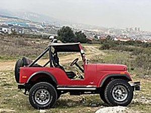 1958 ORJİNAL KENDİ MOTORU ÖZENLE TOPLANMIŞ ORJİNAL KM Jeep Jeep CJ-5