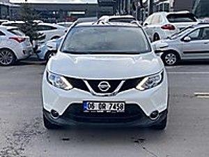 HATASIZ TRAMERSİZ YT SRV BAKIMLI CAM TAVAN 2016 64 BİN KM Nissan Qashqai 1.5 dCi Black Edition