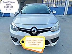 2013 FLUENCE 1 5DCİ EDC JOY 110HP OTOMATİK Renault Fluence 1.5 dCi Joy