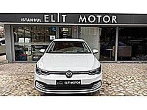 ist.ELİT MOTOR dan 2021 SIFIR 0  KM VW GOLF 8 1.0 TSİ İMPRESSİON Volkswagen Golf 1.0 TSI Impression