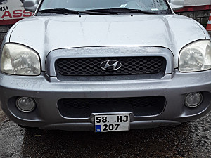 2005 MODEL 2. EL HYUNDAI SANTA FE 2.0 CRDI - 234531 KM