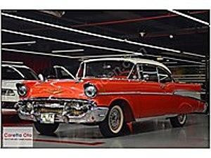 CARETTA DAN 1957 CHEVROLET BELAİR DİREKSİZ COUPE V8 CHEVROLET CHEVROLET BELAIR