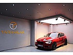 TARHANLAR- BMW 116d ED XENON SUNROOF KIRMIZI    M -ANINDA KREDİ BMW 1 Serisi 116d ED EfficientDynamics