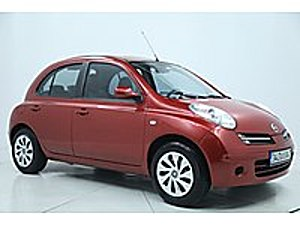 2008 MODEL 100 BİN KM DE TAM OTOMOTİK KIRMIZI MİCRAA Nissan Micra 1.2 Passion