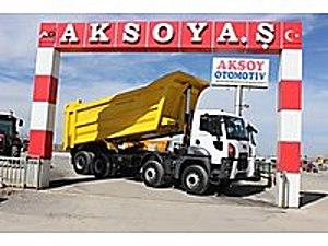 AKSOY A.Ş DEN 2017 4142D ANIL DAMPER MANUEL AC 117.000 KM ADETLİ FORD TRUCKS CARGO 4142D