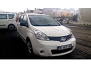 2013 MODEL NİSSAN NOTE 1.5 DCİ VISIA Nissan Note 1.5 dCi Visia