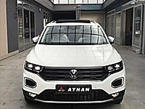 0 KM 2021 VOLKSWAGEN T-ROC SÜRÜŞ ASİSTAN CAM.TAV ELK.BAG Volkswagen T-Roc 1.5 TSI Highline