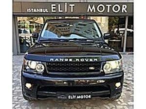 ist.ELİT MOTOR dan 2011 RANGE ROVER SPORT 3.0 PREMIUM HSE BAYİİ Land Rover Range Rover Sport 3.0 TDV6 Premium HSE