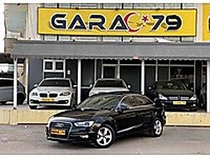 GARAC 79 dan 2014 A3 SEDAN 1.6 TDI S-TRONİC LEDFAR CAM TVN BOYSZ Audi A3 A3 Sedan 1.6 TDI Ambiente
