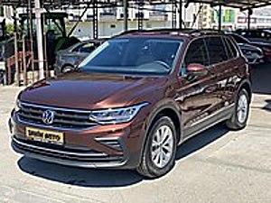 ŞAHİN AUTO DAN 2021 SIFIR KM TİGUAN 1.5 TSİ DSG CAM TAVAN Volkswagen Tiguan 1.5 TSI  Life