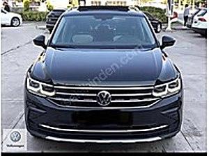 0 KM 2021 VW TİGUAN 1.5 TSİ CAM TAV-HAYALET-AMBİYANS-K.ISIT Volkswagen Tiguan 1.5 TSI  Elegance