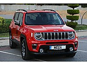 Mega Otomotiv. 2019 Jeep Renegade DCT  LİMİTED   BOYASIZ  İLK EL Jeep Renegade 1.6 Multijet Limited