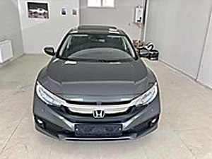 TAKASA AÇIK  2021 0 KM FUL AKSESUARLI    HEMEN TESLİM FÜME RENK Honda Civic 1.6i VTEC Eco Elegance