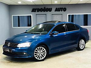 2015 VW JETTA 1.6 TDİ HİGHLİNE DSG-SUNROOF-CRUİSE-K.AYNA-FULL