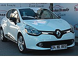 15000 TL PEŞİNLE 2016 CLİO HB TOUCH 90 HP DİZEL OTOMATİK Renault Clio 1.5 dCi Touch