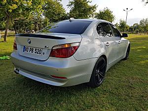 2007 BMW 5.20D KAZASIZ DEĞİŞENSİZ