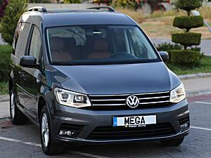 MEGA OTOMOTIV. 2017 VW CADDY DSG   EXCLUSİVE  TABA DERİ  BOYASIZ