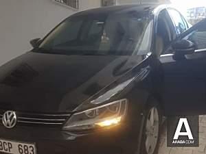 Volkswagen Jetta 2014 model siyah ici bej hatasiz
