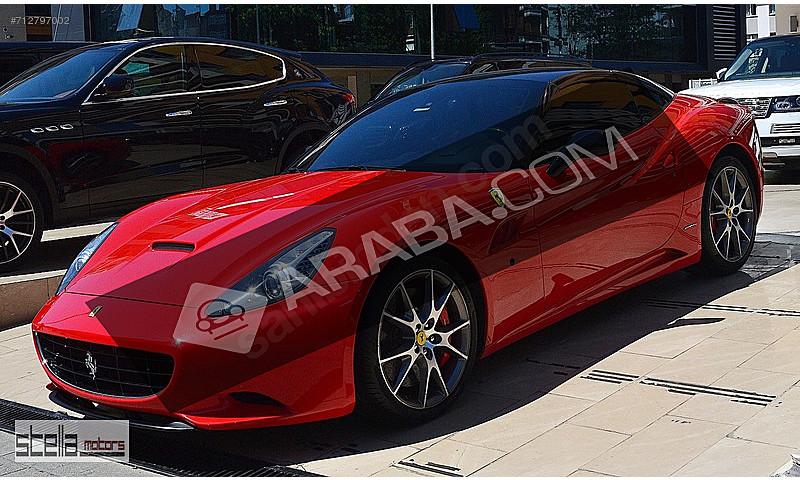 Galeriden 2010 Model Ferrari California 1.150.000 TL'ye ...