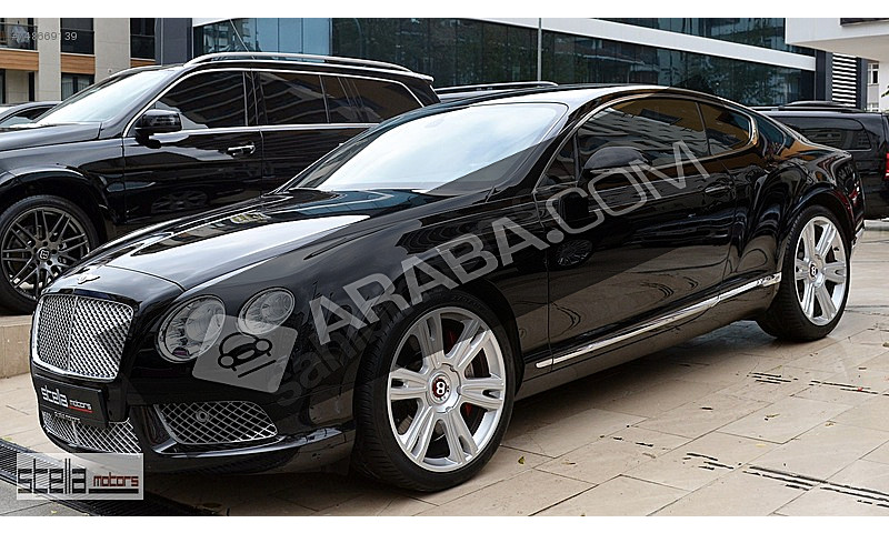 STELLA MOTORS 2013 BENTLEY CONTİNENTAL GT MULLINER 4.0 V8 TAMÖTV Bentley Continental GT