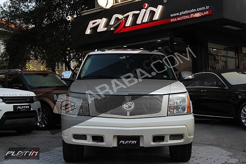 2005 CADİLLAC ESCALADE 6.0 V8 OTOMATİK BOSE TV BASAMAK Cadillac Escalade 6.0 V8