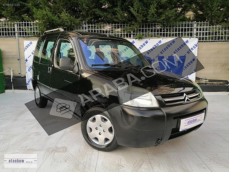 OTOSHOW 2 ELDEN TÜRKİYE DE TEK BOYASIZ HATASIZ ÇİFT SÜRGÜ KOLTUK Citroën Berlingo 1.9 D