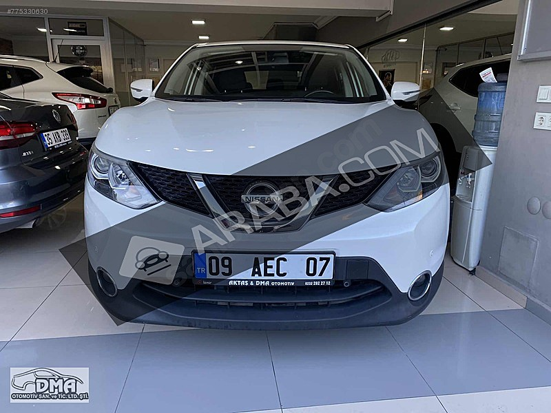 2014 Model 113 000 Km De Beyaz Nissan Qashqai Araba Com Da Satista Izmir Araba Com