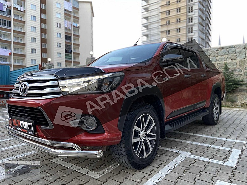 2016 Toyota Hilux / 99.000 KM / Bordo | Trabzon | Tasit.com