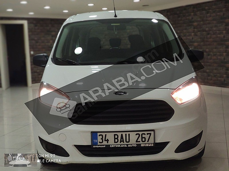 2018 Ford Otosan Tourneo Courier 60 000 Km Beyaz Istanbul Tasit Com