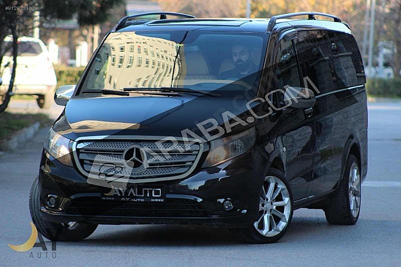 2 el 2015 model siyah mercedes vito tourer 237 500 tl tasit com