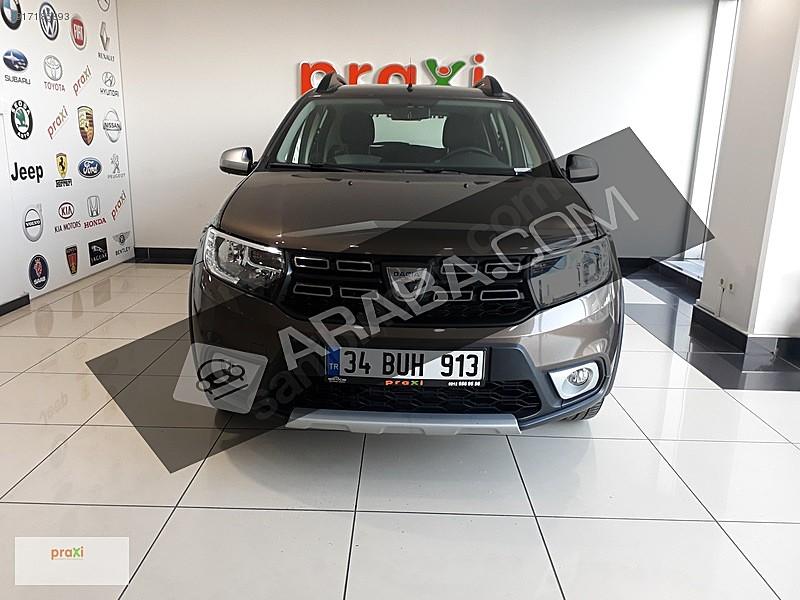 2 el 2019 model kahverengi dacia sandero 158 500 tl tasit com